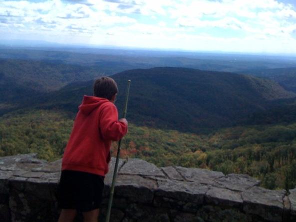 Jacob on White Rock Mt.