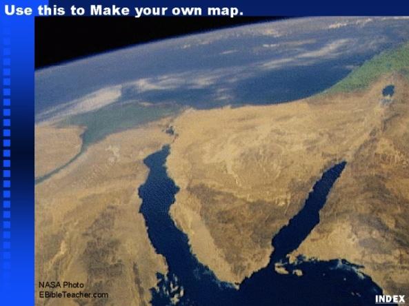 Sinai, Egypt Blank Map